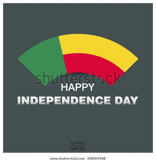 Happy independence day of Republic of Benin