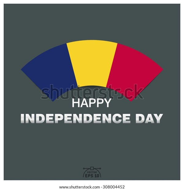 Happy independence day of Republic of Chad