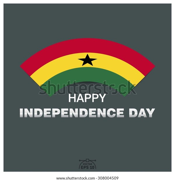 Happy independence day of Republic of Ghana
