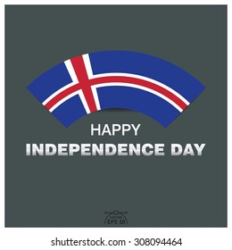 Happy independence day of Republic of Iceland