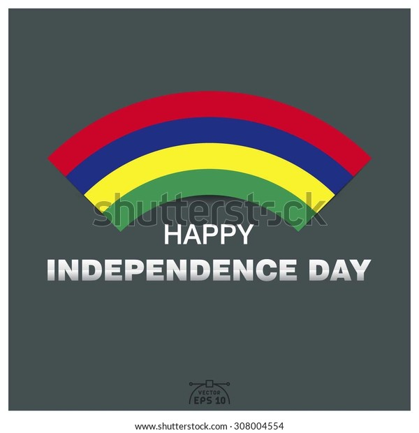Happy independence day of Republic of Mauritius