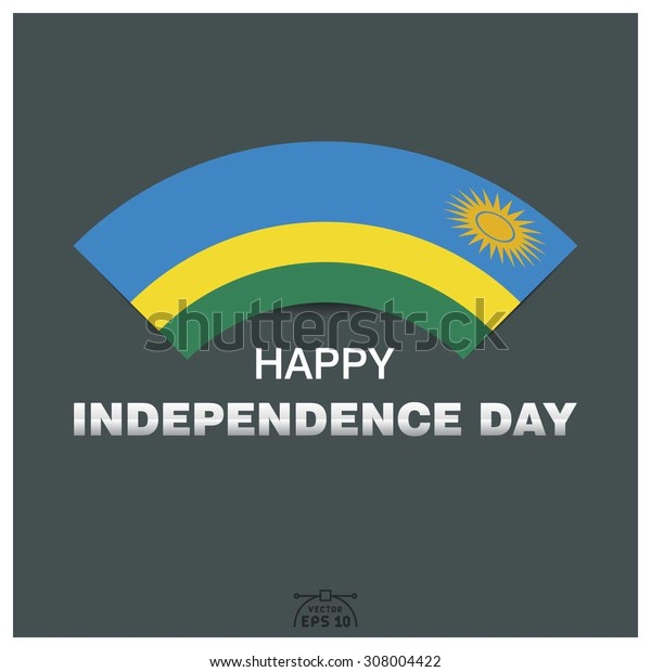 Happy independence day of Republic of Rwanda