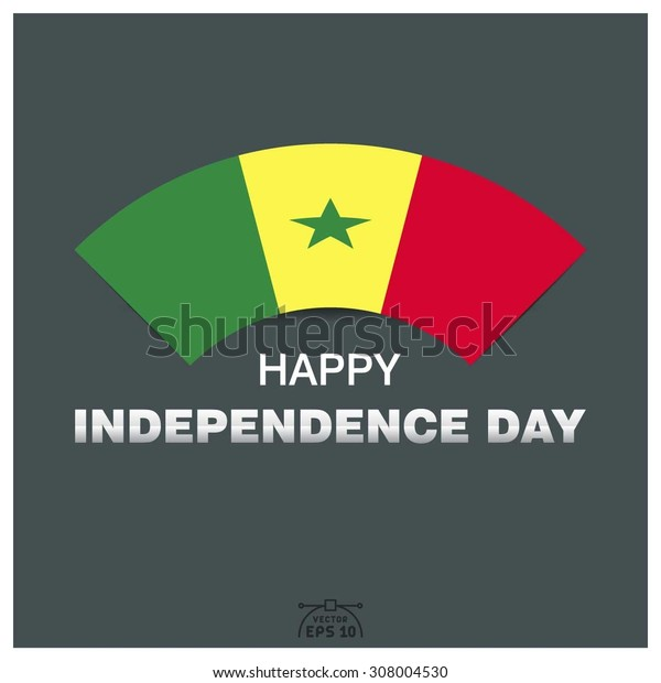 Happy independence day of Republic of Senegal