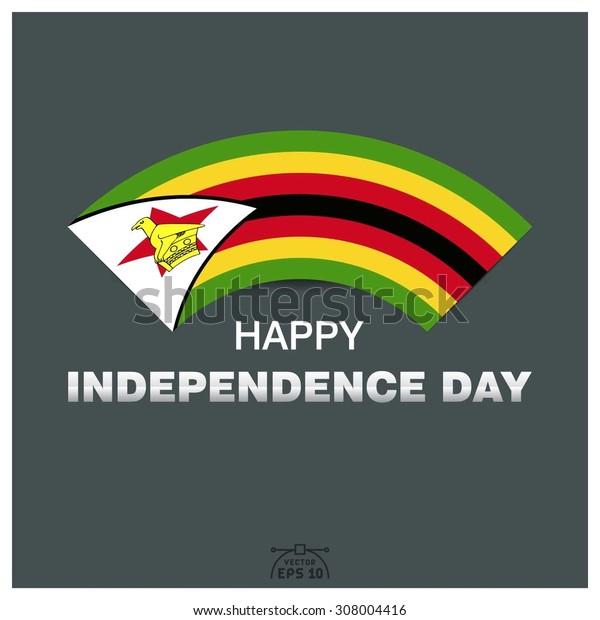 Happy independence day of Republic of Zimbabwe