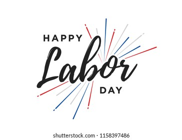 Happy Labor Day, Labor Day, Labor Day Banner, Happy Labor Day Background, Holiday Vector Text for posters, flyers, marketing, social media, greeting cards, advertisement