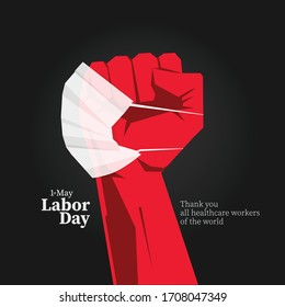 Happy Labor Day. Thank you all healtcare workers of the world.