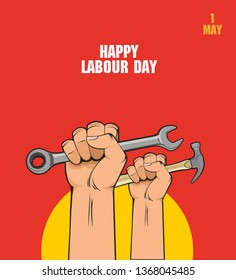 Happy Labour Day - 1st May