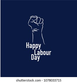 Happy Labour Day Vector Template Design Illustration