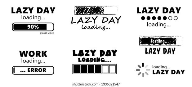 Happy Lazy Day World sleep day Dream day  asleep counting shhh silent please be quiet please silence sleeping mute Fun funny vector sheep good night Pajamas tim sleepy sunday long weekend human