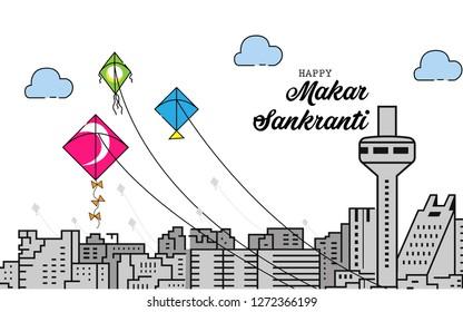 Happy Makar Sankranti (Kite festival)
