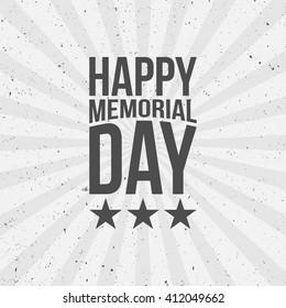 Happy Memorial Day Text