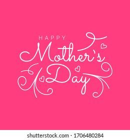 Happy Mother's Day Design Vector