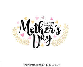 Happy Mothers Day Greeting Card Background. greeting cards with Flowers