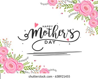 Happy mothers day images stock photos vectors shutterstock happy mothers day greeting card background m4hsunfo