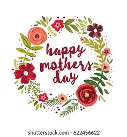 Mothers day card images stock photos vectors shutterstock happy mothers day greetings card m4hsunfo