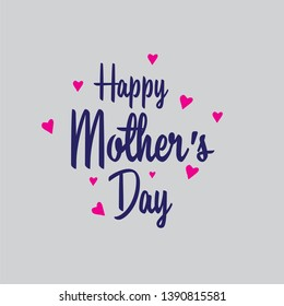 Happy Mother's Day Vector Typography - Vector