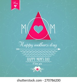 Happy Mothers's Day Greeting Card