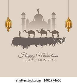 Happy New Hijri Year, Islamic New Year 1441 Hijriyah (1 muharram)