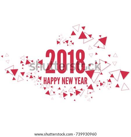 happy new year 2018 theme