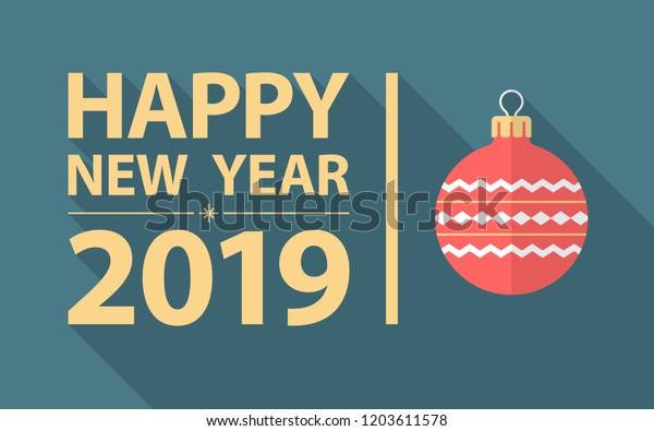 Happy New Year Flat Design 34