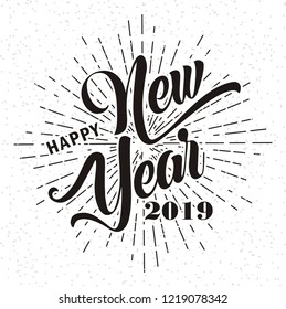 Happy New Year Font 35