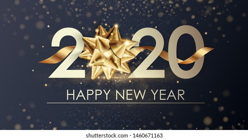 Happy New Year 2020 Images Stock Photos Vectors