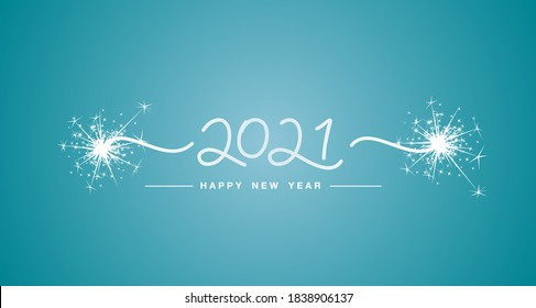 Image result for happy new year in teal and white