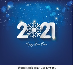 Happy new year 2021. Merry Christmas and Happy New Year holiday symbol template. Chinese new year, year of the ox