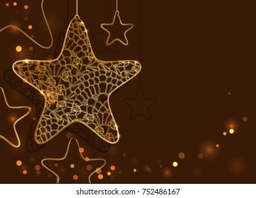 Happy new year background with decorative elements