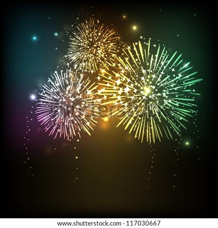 happy new year celebration background eps 10
