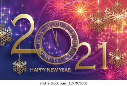Happy New Year 2021 Images Stock Photos Vectors Shutterstock