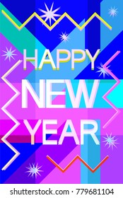 Happy new year Festive words to people for the next period of life and time.