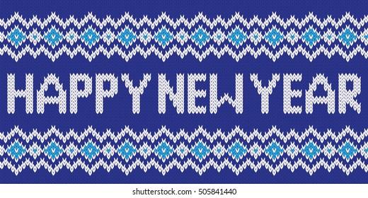 Monokas Knitted Patterns Set On Shutterstock