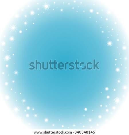 happy new year and merry christmas frozen vector background with snowflakes