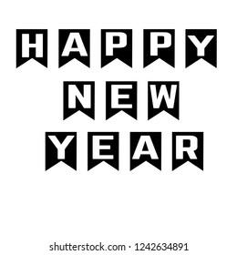 Happy New Year modern Inovation Style