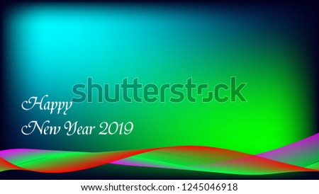 happy new year happy new year wallpaper banner gradient background