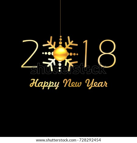 happy new year wallpaper design
