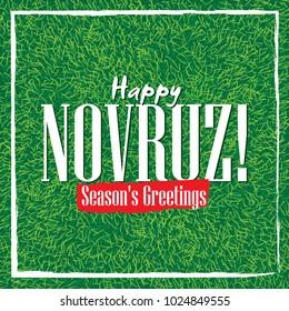 Happy Novruz and season's greetings