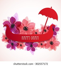 Atham images stock photos vectors shutterstock happy onam background banner or greeting card design for south indian festival onam decorated with m4hsunfo
