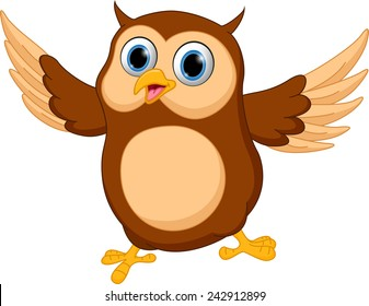 owl cartoon images stock photos vectors shutterstock rh shutterstock com wise owl images cartoon owl pictures cartoon black and white