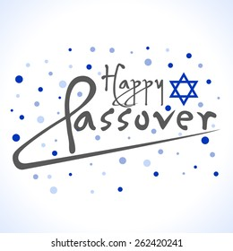 Happy passover design
