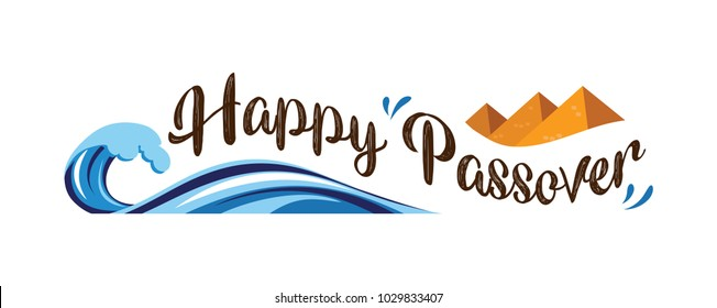 happy Passover, Jewish holiday. abstract banner. vector illustration