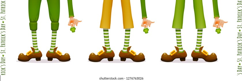 picture relating to Leprechaun Feet Printable called Leprechaun Shots, Inventory Shots Vectors Shutterstock