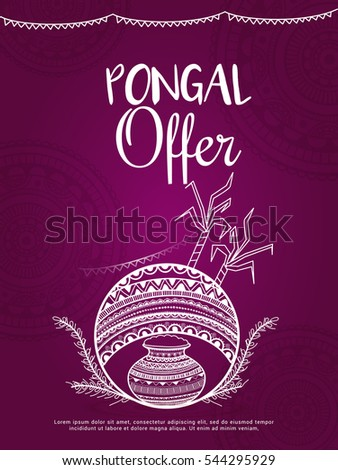 Happy pongal greeting card stock vector royalty free 544295929 happy pongal greeting card m4hsunfo