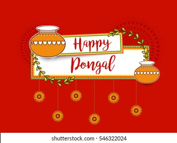 Pongal greetings stock illustrations images vectors shutterstock happy pongal greeting card background m4hsunfo