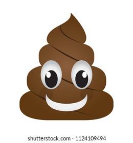 Happy poop emoji