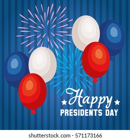 happy presidents day poster