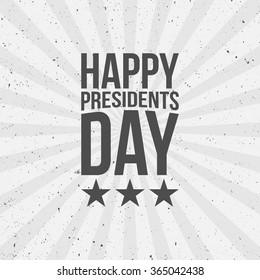 Happy Presidents Day Text
