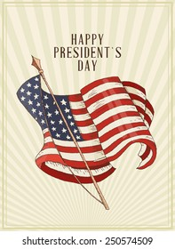 Happy President's Day in the United States of America.  USA design