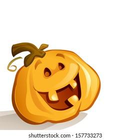 Happy Pumpkin (Vector)